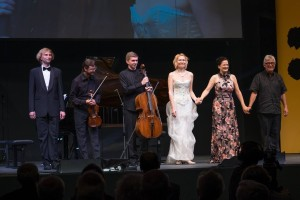 Styriarte 2015, Ant. Dvořák: Moravian Duets Simona Šaturová, Ivo Kahánek, Dvořák Trio